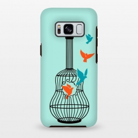 Galaxy S8+  freedom music green by Coffee Man