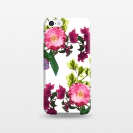 iPhone 5C  Colorful Floral Print by Zala Farah
