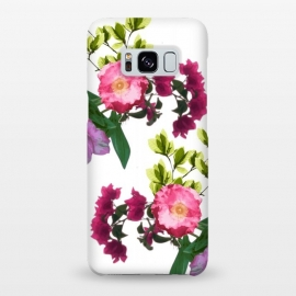 Galaxy S8+  Colorful Floral Print by Zala Farah