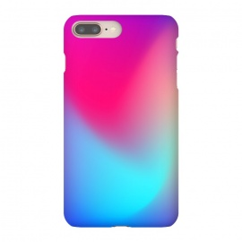 iPhone 8/7 plus  Be a unicorn by  (abstract,colors,colorful,pink,teal,blue,gradient,mix)