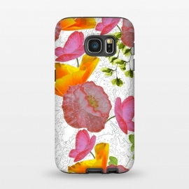 Galaxy S7  New Flowers by Zala Farah