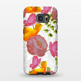Galaxy S7 EDGE  New Flowers by Zala Farah