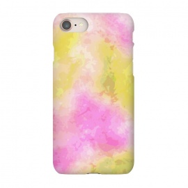 iPhone 8/7  Pink + Yellow Galaxy by Zala Farah