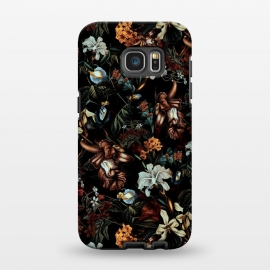 Galaxy S7 EDGE  Botanical Flowers I by Riza Peker