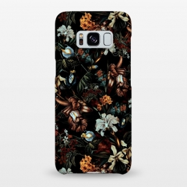 Galaxy S8+  Botanical Flowers I by Riza Peker (FLORAL,PATTERN,ART)