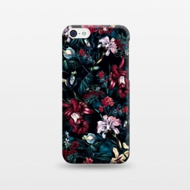 iPhone 5C  Botanical Flowers II by Riza Peker (FLORAL,PATTERN,ART)