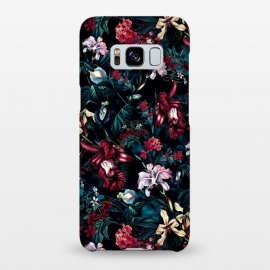 Galaxy S8+  Botanical Flowers II by Riza Peker (FLORAL,PATTERN,ART)