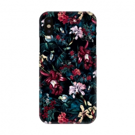 iPhone X  Botanical Flowers II by Riza Peker (FLORAL,PATTERN,ART)