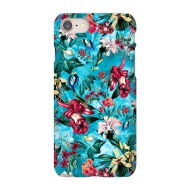 iPhone 8/7  Botanical Flowers III by Riza Peker (FLOWERS,PATTERN,FASHION,DESIGN,ART)