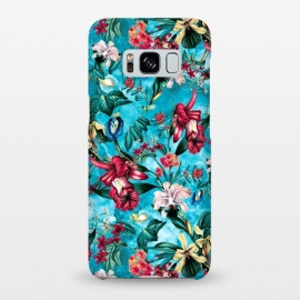Galaxy S8+  Botanical Flowers III by Riza Peker (FLOWERS,PATTERN,FASHION,DESIGN,ART)