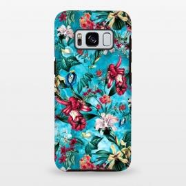 Galaxy S8 plus  Botanical Flowers III by  (FLOWERS,PATTERN,FASHION,DESIGN,ART)