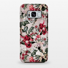 Galaxy S8+  Botanical Flowers IV by Riza Peker (FLORAL,PATTERN,FASHION,DESIGN,ART)