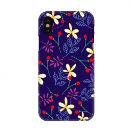 iPhone X  Floral Paradise II by Allgirls