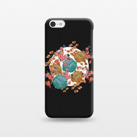 iPhone 5C  Floral Stamp by Zala Farah