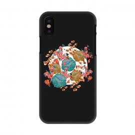 iPhone X  Floral Stamp by Zala Farah