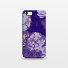 iPhone 5C  Navy Fluer by Zala Farah