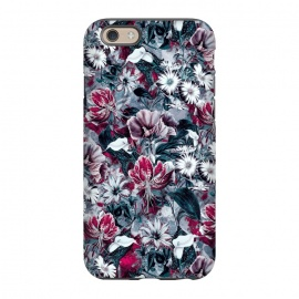 iPhone 6/6s  Floral Blue by Riza Peker