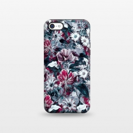 iPhone 5C  Floral Blue by Riza Peker