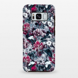 Galaxy S8+  Floral Blue by Riza Peker