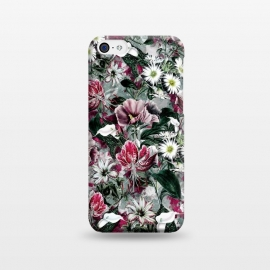 iPhone 5C  Floral Spring by Riza Peker (floral,fashion,design,rizapeker,art)