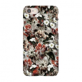 iPhone 8/7  Floral Fall by Riza Peker (botanical, floral,fashion,design,rizapeker,art)