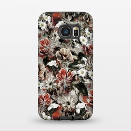 Galaxy S7  Floral Fall by Riza Peker