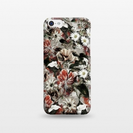 iPhone 5C  Floral Fall by Riza Peker (botanical, floral,fashion,design,rizapeker,art)