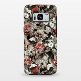 Galaxy S8+  Floral Fall by Riza Peker (botanical, floral,fashion,design,rizapeker,art)