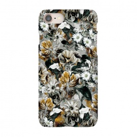 iPhone 8/7  Floral Gold by Riza Peker (floral,pattern,fashion,design,art,moda,rizapeker)