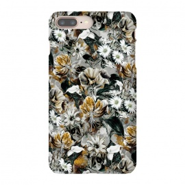 iPhone 8/7 plus  Floral Gold by  (floral,pattern,fashion,design,art,moda,rizapeker)