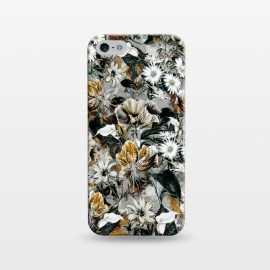 iPhone 5/5E/5s  Floral Gold by Riza Peker
