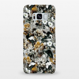 Galaxy S8+  Floral Gold by Riza Peker