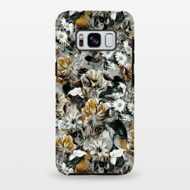 Galaxy S8 plus  Floral Gold by  (floral,pattern,fashion,design,art,moda,rizapeker)