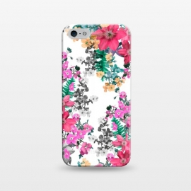 iPhone 5/5E/5s  Flora Light (Pink) by Zala Farah