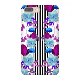 iPhone 8/7 plus  Spring Garden (Blue-Purple) by Zala Farah