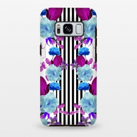 Galaxy S8+  Spring Garden (Blue-Purple) by Zala Farah