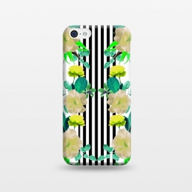 iPhone 5C  Spring Garden (Green-Yellow) by Zala Farah