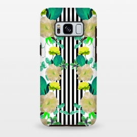Galaxy S8+  Spring Garden (Green-Yellow) by Zala Farah