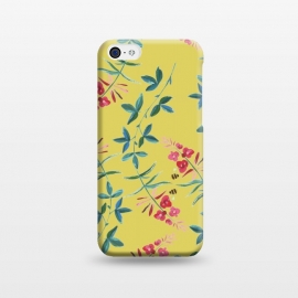 iPhone 5C  Floral Vines by Zala Farah