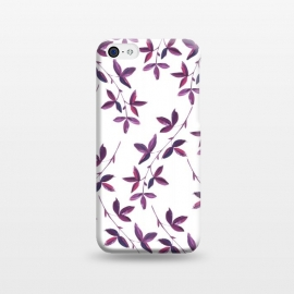 iPhone 5C  Purple Vines by Zala Farah