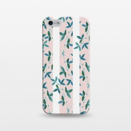 iPhone 5/5E/5s  Peeping Pink Vines by Zala Farah