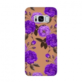 Galaxy S8  Rosie Purple Love by Zala Farah
