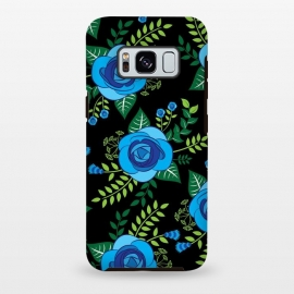 Galaxy S8 plus  Blue Roses by