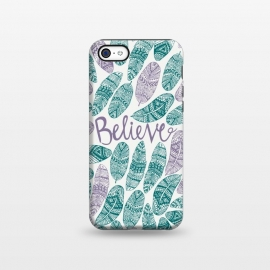 iPhone 5C  Believe by Pom Graphic Design ()