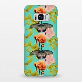Galaxy S8+  Tropical Butterfly Garden by Zala Farah
