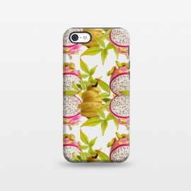 iPhone 5C  Pear and Dragon Fruit by Zala Farah