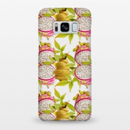 Pear and Dragon Fruit by Zala Farah
