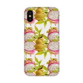 iPhone X  Pear and Dragon Fruit by Zala Farah