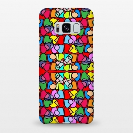 Galaxy S8+  Love is All Around Us by Bettie * Blue (hearts,love,colorful,bright colors,valentine,happy,fun,whimsical)