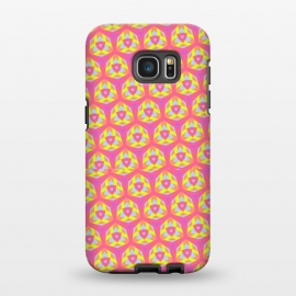 Galaxy S7 EDGE  Kaleidoscope by Bettie * Blue